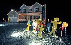 Burbank family turns home into gingerbread house - The Daily Record   Wayne & Holmes County, Ohio
