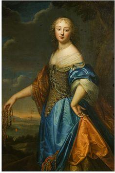 Jeanne de Marigny by Beaubrun, Charles - 1650-60