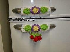 Artesanato e Reciclagem Lado a Lado: Tudo em Crochet da Net