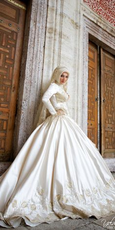 Of The Most Exclusive Muslim Wedding Dresses ★ See more: https://weddingdressesguide.com/muslim-wedding-dresses/ #bridalgown #weddingdress