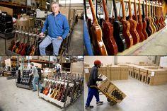 La fabricación de una Gibson americana | La guitarra y los instrumentos de cuerda pulsada