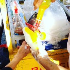 No matter how hot it is, a piragua always makes everything better. | 35 Things Puerto Ricans Know To Be True
