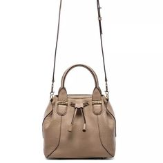 "Mackage Loryn Mini Sand Gold Crossbody Bucket #Z6 New Without Tags. Runway, has some wear (discoloration on handle) overall excellent condition, clean 100% Odor FREE.W 9.25""/ H 8.25""/ D 6"". 100% Leather. Mackage Bags Crossbody Bags"