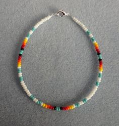 White +Turquoise Anklet,Ankle Bracelet Native American in Jewelry & Watches, Ethnic, Regional & Tribal, Native American | eBay #NativeAmericanJewelry