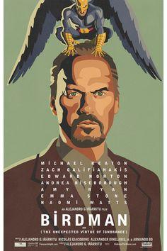 20 POSTERS de cine muy AD - Birdman (2014) | Galería de fotos 12 de 20 | AD