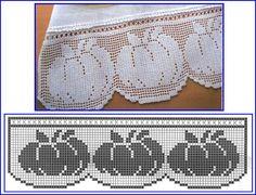 MIRIA CROCHÊS E PINTURAS: LEGUMES NOS BARRADOS DE CROCHÊ      ♪ ♪ ... #inspiration_crochet #diy GB http://www.pinterest.com/gigibrazil/boards/