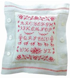 Cross stitch pattern Rose Motif Sampler JBW at www.thecottageneedle.com