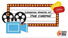Do you like movies? What kind of movies do you like? At Habla y Olé you can learn Spanish vocabulary that you will come across at the cinema!