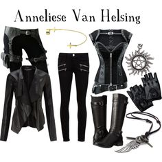 Anneliese Van Helsing by ygheiress on Polyvore featuring Miss Selfridge, Paige Denim, Eürosoft and Bling Jewelry