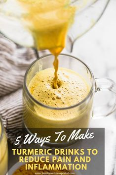 Turmeric is one of the most powerful and versatile natural miracle, that improves our health in numerous ways. Turmeric Uses, Turmeric Drink, Turmeric Smoothie, Fresh Turmeric, Herbal Remedies, Health Remedies, Anti Inflammatory Diet, Eating Organic, Natural Cures