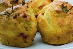 Muffiny s kozím sýrem a rozmarýnem