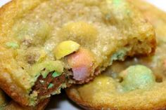 Cadbury Mini Egg Cookies my fav Easter candy!!!