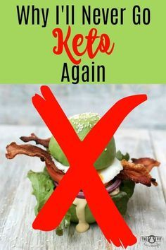 """Are you struggling with Keto? Is Keto the """"right"""" diet for you? Find out the pros and cons here and why I'll NEVER go Keto again."""