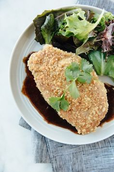 Recipe: Jacques Pépin's Pork Schnitzel with Crispy Rice Coating
