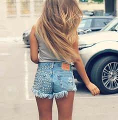 this could be either hair or fashion. it works either way. :)