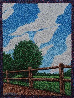 Pointillism No. 22 Field 3 by Samuraijose on DeviantArt - Pointillism No. 22 Field 3 by ~Samuraijose on deviantART - Dot Art Painting, Mandala Painting, Art Sketches, Art Drawings, Stippling Art, Elements Of Art, Art Plastique, Art Activities, Mosaic Art