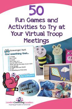 Girl Scout Leader, Girl Scout Troop, Brownie Girl Scouts, Cub Scouts, Scout Games, Cub Scout Activities, Activities For Girls, Brownie Meeting Ideas, Brownies Activities