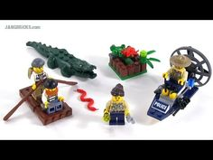 LEGO City Swamp Police Starter Set review! set 60066 - YouTube