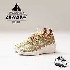 """Nike Lunar Elite Sy HI FW QS """"LONDON"""" Special QS Pack for the ladies! Now Online www.sneakerbaas.nl #NIKE #LUNAR #ELITE #QS code: 652902-700"""