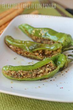 Friarielli farciti con panura ricetta secondo vegetariano vegan Statusmamma Giallozafferano contorno cuocere ricetta food tutorial passo passo