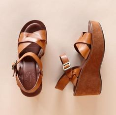 Kork-Ease Sandals. I want a pair, like now. $138