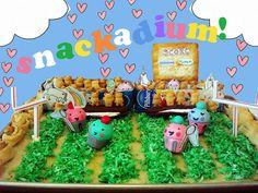 Snackadium by cakespy