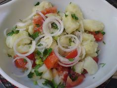 Σαλάτες διάφορες !!! ~ ΜΑΓΕΙΡΙΚΗ ΚΑΙ ΣΥΝΤΑΓΕΣ Hors D'oeuvres, Potato Salad, Salads, Meat, Chicken, Recipes, Food, Greek, Easter
