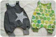 As you all know, I love quick sewing projects. Baby Overalls, Baby Pants, Sewing For Kids, Baby Sewing, Baby Kids Clothes, Diy Clothes, Baby Kind, Baby Patterns, Kind Mode