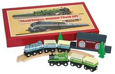 Patal Traditional Wooden Train Set