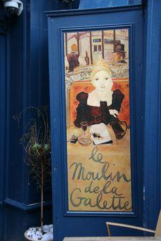 Le Moulin de la Galette Restaurant, Montmartre, Paris, France