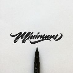 Lettering / Сalligraphy / Typography