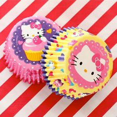 Hello Kitty Cupcake Cups....How sweet!