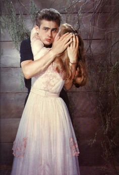 James Dean and Julie Harris in 'East of Eden', 1955.