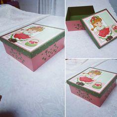 Caixa menina melancia