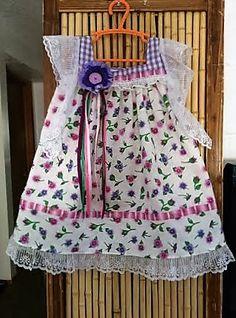 Angel Wings Dress in shades of purple!  Size 4T