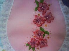 Flores en u en color rosa