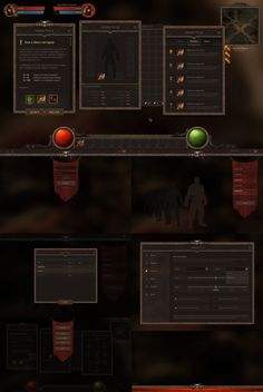 RPG and MMO UI 3 by Evil-S on DeviantArt