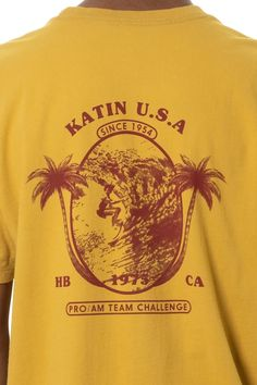 Shop Katin's selection of custom-designed men's graphic tees. The tees are Made in the U.S.A. with 100% cotton in a relaxed, durable fit. Team Challenges, Graphic Tees, Fit, How To Make, Cotton, T Shirt, Shopping, Tops, Design