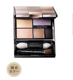 Shiseido Maquillage Eyeshadow Palette Fall 2014