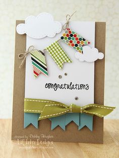 Banner card ~ Stampin UP