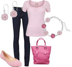 """Strawberry Kisses"" by jewelpop on Polyvore"