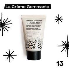 DAY 13 of AbsoCalendar This Tuesday we are giving you the chance to win our face's favorite gym : La Crème Gommante. Dull skin imperfections grey tone loss of firmness ... Your skin needs a workout! La Crème Gommante micro grains gently stimulates and revitalizes whilst symultaneously detoxing and repairing  In order to participate to today's drawing just follow these 3 easy steps: Like our page @absolution_cosmetics (if you haven't already  ). Like this picture. Finish this sentence in the…