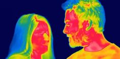Le corps humain et les gestes de la vie quotidienne paraissent bien différents quand ils sont filmés par une caméra thermique. A découvrir en vidéo.