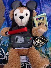 "Disney Duffy bear Star Wars Darth Vader 12"" new release"