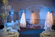 Winter Formal Decorating Ideas | | Party Decor | Gatlinburg Balloon Decor | Sevierville Balloon Decor ...