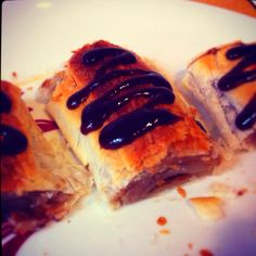 BBQ Sauce Pastry Puffs - Experimental