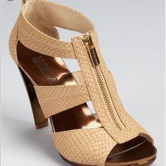 M.K. Berkeley Gold Shoes