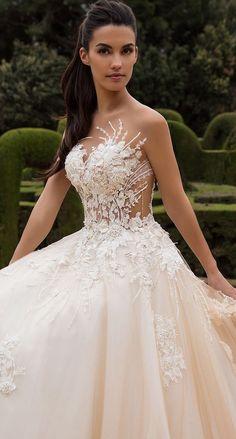 Wedding Dress by Milla Nova White Desire 2017 Bridal Collection - Leona