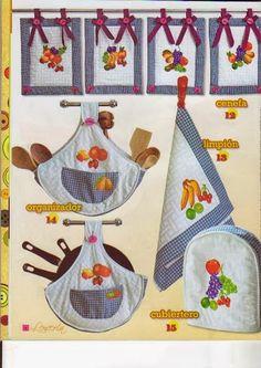 1000 images about cocina on pinterest kitchen tiles - Manualidades decorativas para el hogar ...