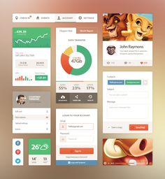 33+ Examples of Flat UI Design for Inspiration